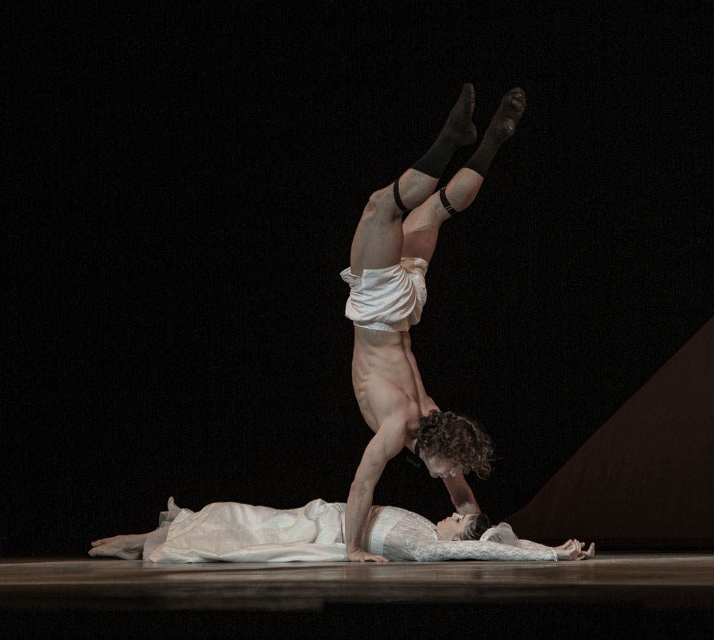 SOLO FOR TWO performed by Natalia Osipova and Ivan Vasiliev, London Colliseum. Photo © Vanja Karas 2014