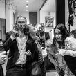 Black+White Art Society Soho extravaganza, presented by Art Society Soho and Creative Debuts in Conjunction with Whitechapel Gallery First Thursdays. Photo by Vanja Karas © 2016