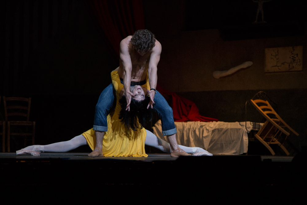 LE JEUNE HOMME ET LA MORT – THE YOUNG MAN AND DEATH, London Coliseum, Kings of the Dance,  Ivan Vasiliev, principal dancer with the American Ballet Theatre, previously the principal dancer with the Bolshoi Ballet, Svetlana Lunkina, prima ballerina of the Bolshoi Ballet, Roberto Bolle, American Ballet Theatre, Marcello Gomez, Denis Matvienko, and Leonid Sarafanov. Photos © Vanja Karas March 2014