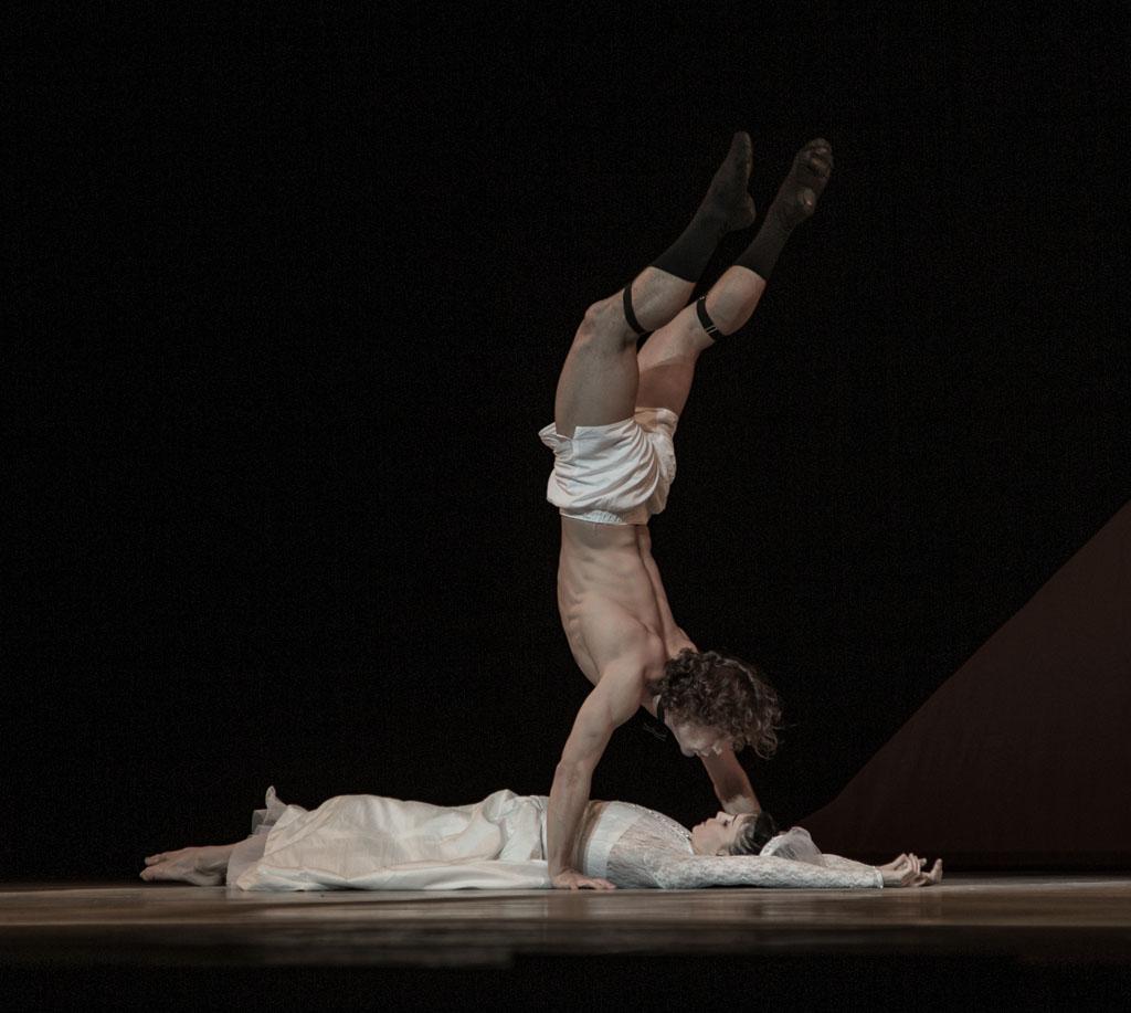 SOLO FOR TWO performed by Natalia Osipova and Ivan Vasiliev, London Colliseum. Photo © Vanja Karas 2014